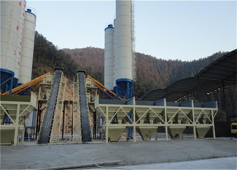 700吨稳定土拌合站